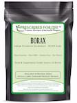 Borax - Pure USP-NF Grade Sodium Borate 10 mol Mineral Fine Powder 70-200 Mesh, 12 oz (12 oz)