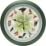 Singing Bird Clock 20th Anniversary Ed. with Numbered Seal Of Authenticity (1)