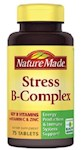 Nature Made Stress B-Complex Tablets With Vitamin C and Zinc (1 Unit)