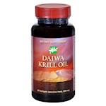 Daiwa Health Development - Krill Oil - 500 mg - 60 Softgels (1)