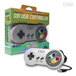 S91 PC/ Mac Premium SNES-Style USB Controller (Super Famicom) - CirKa (1 Unit)