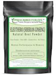 Eleuthero - Natural Siberian Ginseng Root Powder - No Fillers (Eleutherococcus senticosus), 4 oz (4 oz)