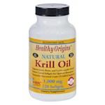 Healthy Origins Krill Oil - 1000 mg - 120 Softgels (1)