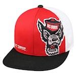 NC State Wolfpack NCAA TOW Banshee Flat Bill Snapback Hat (1 Unit)