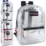 Wholesale Clear Trailmaker Backpack Case of 24 (1 Unit)