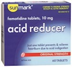 FAMOTIDINE, ACID SM TAB RED 10MG (60/BX) (1 Bottle)