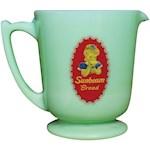 "Sunbeam Jadite Measuring Cup - 32 Ounce Glass Decorative & Functional 5.5"" (1)"