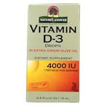 Nature's Answer - Vitamin D-3 Drops - 4000 IU - 0.5 fl oz (1)