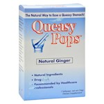 Three Lollies Queasy Pops Ginger - 7 Pops (1)