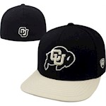 Colorado Buffaloes NCAA TOW Slam Flat Bill Stretch Fitted Hat (1 Unit)