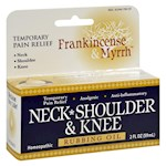 Frankincense and Myrrh Neck, Shoulder, and Knee Oil - 2 fl oz (1)