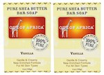 Out of Africa Pure Shea Butter Bar Soap Vanilla 2 Bar Pack (1 Unit)