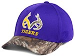 LSU Tigers NCAA TOW Region Camo Stretch Fitted Hat (1 Unit)