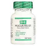 BHI - Mucus Relief - 100 Tablets (1)