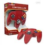 Nintendo 64 N64 Cirka Controller (Red) (1 Unit)