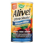 Nature's Way - Alive! Ultra-Shake - Vanilla - 21 oz. (1)