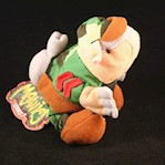 ARMYDILLO DAN * MEANIES * Series 1 Bean Bag Plush Toy From The Idea Factory (1 Each)