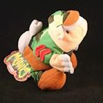 ARMYDILLO DAN * MEANIES * Series 1 Bean Bag Plush Toy From The Idea Factory (1 Each)