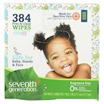 Seventh Generation Baby Wipes - Free and Clear - Multipack - 64 Wipes Each - 6 Count (1)