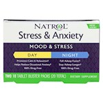 Natrol Stress Anxiety Day and Nite Formula - 20 Tablets (1)