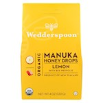 Wedderspoon Drops - Organic - Manuka - 15+ - Lemon - 4 oz (1)