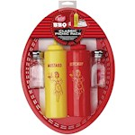 Classic Picnic Pack Enjoy Summer BBQs - Baskets Shakers Squeeze Bottles + (1)