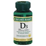 Nature's Bounty D3-1000 Softgels (1 Unit)