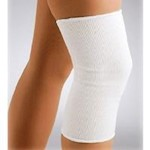 "KNEE SUPPORT, PULLOVER ELAS WHT LG 18-21"" (1 Each)"