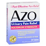 Azo Urinary Pain Relief - 24 Tablets (1)