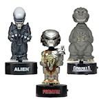 "(Set) Godzilla, Predator, And Alien 6"" Body Knockers - Movie Creep Creatures (3)"