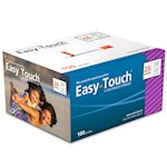 Easy Touch Insulin Syringes 28 Gauge .5cc 1/2 in - 100 ea (1)