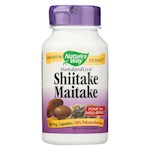 Nature's Way - Shiitake and Maitake Standardized - 60 Capsules (1)