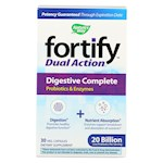 Nature's Way - Fortify Dual Action Digestive Complete - Probiotics and Enzymes - 30 Veg. Capsules (1)