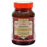 Only Natural Schizandra Extract - 500 mg - 60 Veggie Capsules (1)