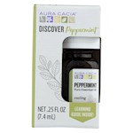 Aura Cacia - Discover Essential Oil - Peppermint - Pack of 3-.25 fl oz. (3)