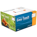 Easy Touch Insulin Syringes 27 Gauge 1cc 1/2 in - 100 ea (1)