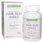 Nature's Bounty Optimal Solutions Hair, Skin & Nails, Extra Strength (1 Unit)