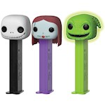 Nightmare Before Christmas Pez Set of 3 with Jack, Sally, and Oogie Boogie (3)