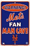 New York Mets MLB Fan Man Cave Parking Sign (1 Unit)