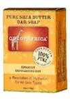 Out of Africa Pure Shea Butter Bar Soap Apricot Exfoliating Bar (1 Unit)