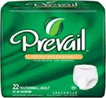 Absorbent Underwear Prevail  Extra Pull On Small Disposable Moderate Absorbency (4)