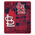 St. Louis Cardinals MLB Northwest Fleece Throw (1 Unit)