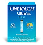 One Touch Ultra Blue Test Strips (Box of 50)