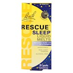 Bach Flower Remedies Rescue Sleep Liquid Melts - 28 Capsules (1)
