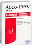 Accu-Chek Aviva High/Low Flow Control Solution (1 Set of 2 (Hi/Lo))