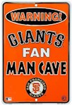 San Francisco Giants MLB Fan Man Cave Parking Sign (1 Unit)