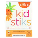American Health - Ester-C - Kid Stiks - Tropical Punch - 30 Packets (1)