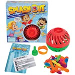 Splash Out Game Indoor/Outdoor Fun Trivia And Water Balloon Challenge (1)