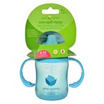 Green Sprouts Sippy Cup - Non Spill Aqua - 1 ct (1)