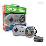 SNES S91 Controller - CirKa Super Nintendo Control Pad (Super Famicom) (1 Unit)